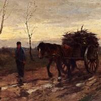 Returning Home by Johan Frederik Cornelis Scherrewitz