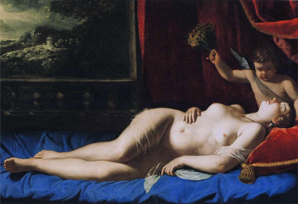 Sleeping Venus by Artemisia Gentileschi