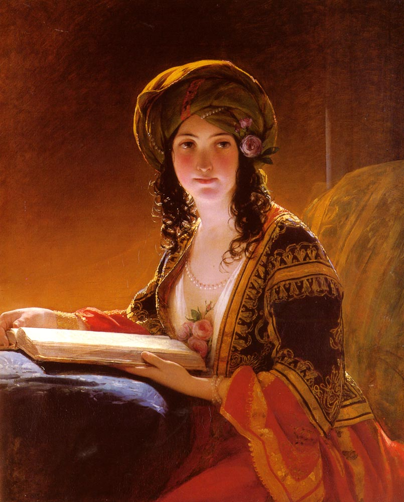 The Oriental by Friedrich von Amerling