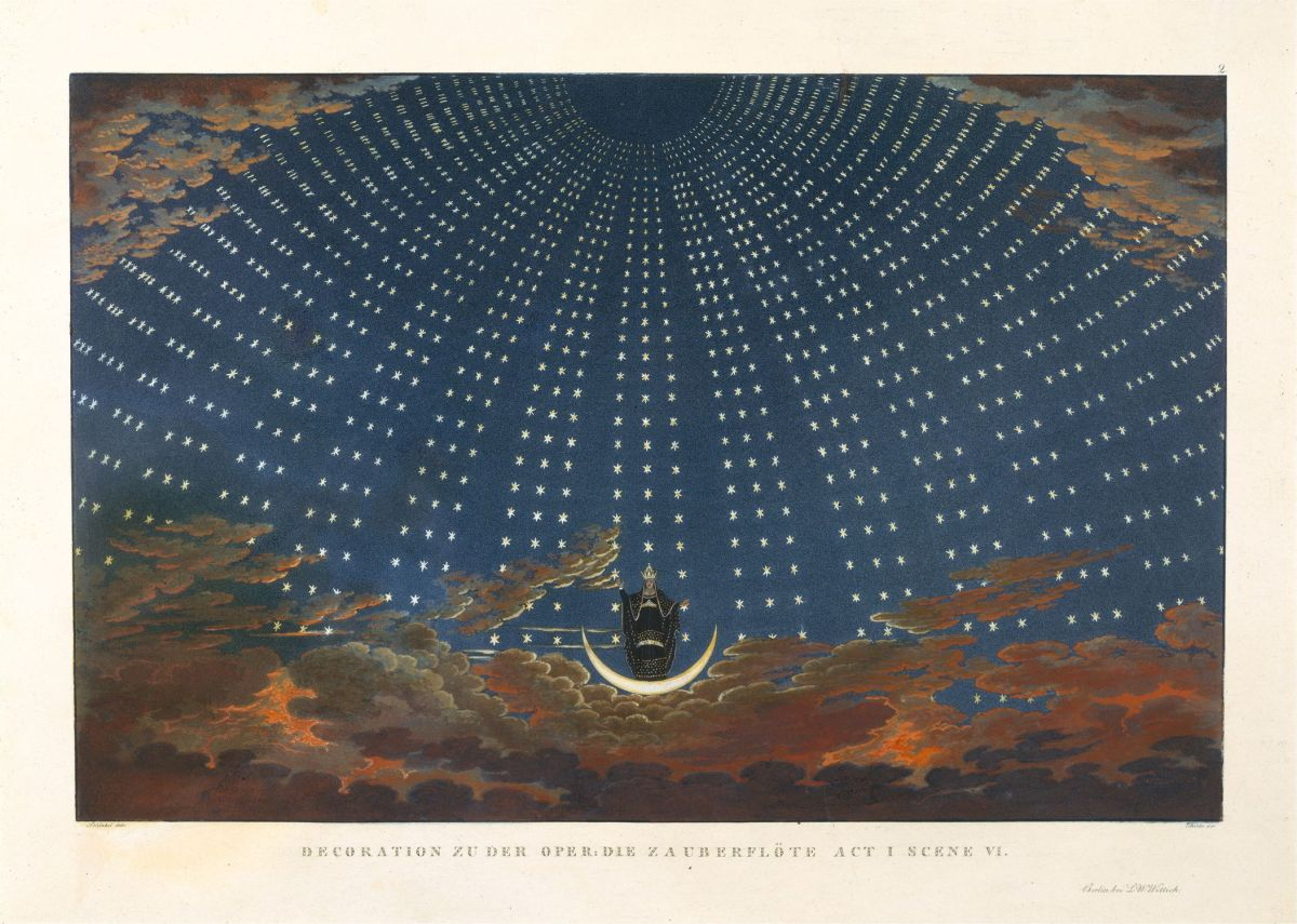 The Queen Of The Night by Karl Friedrich Schinkel