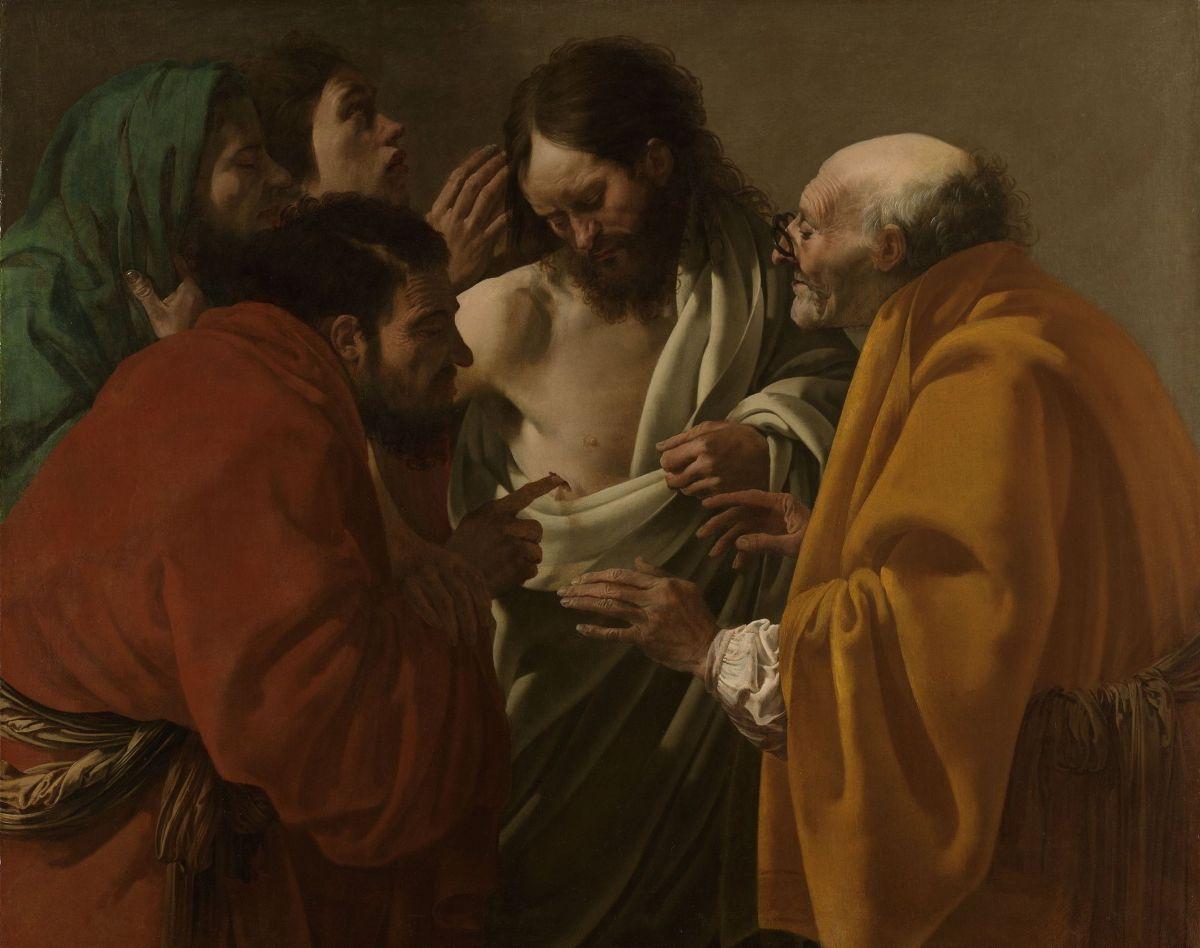 The Incredulity of Saint Thomas by Hendrick Terbrugghen