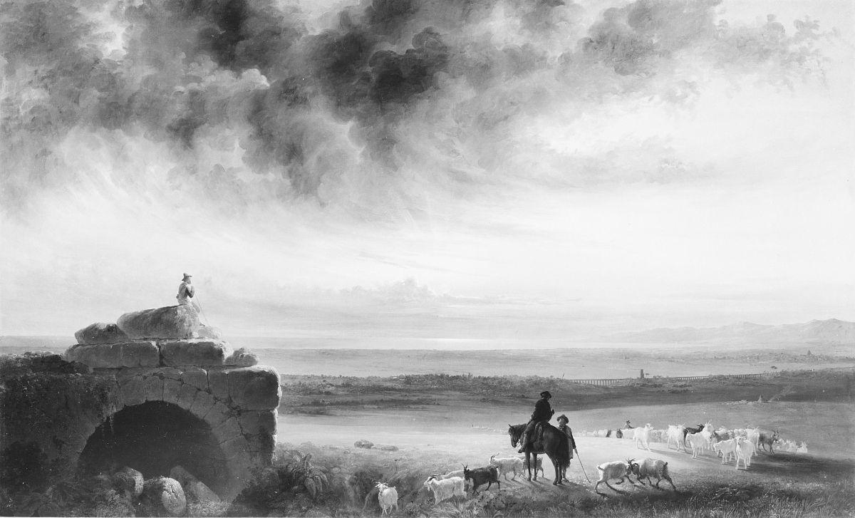 The Roman Campagna by John Gadsby Chapman