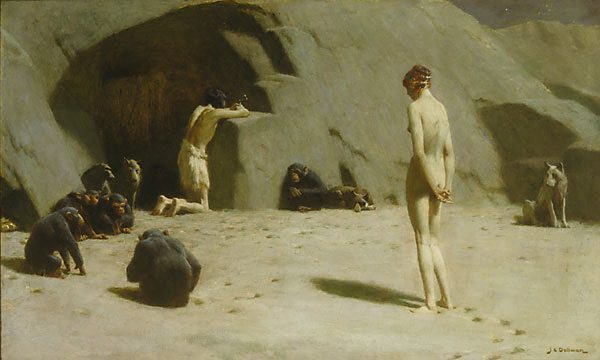The Temptation Of Saint Anthony by John Charles Dollman