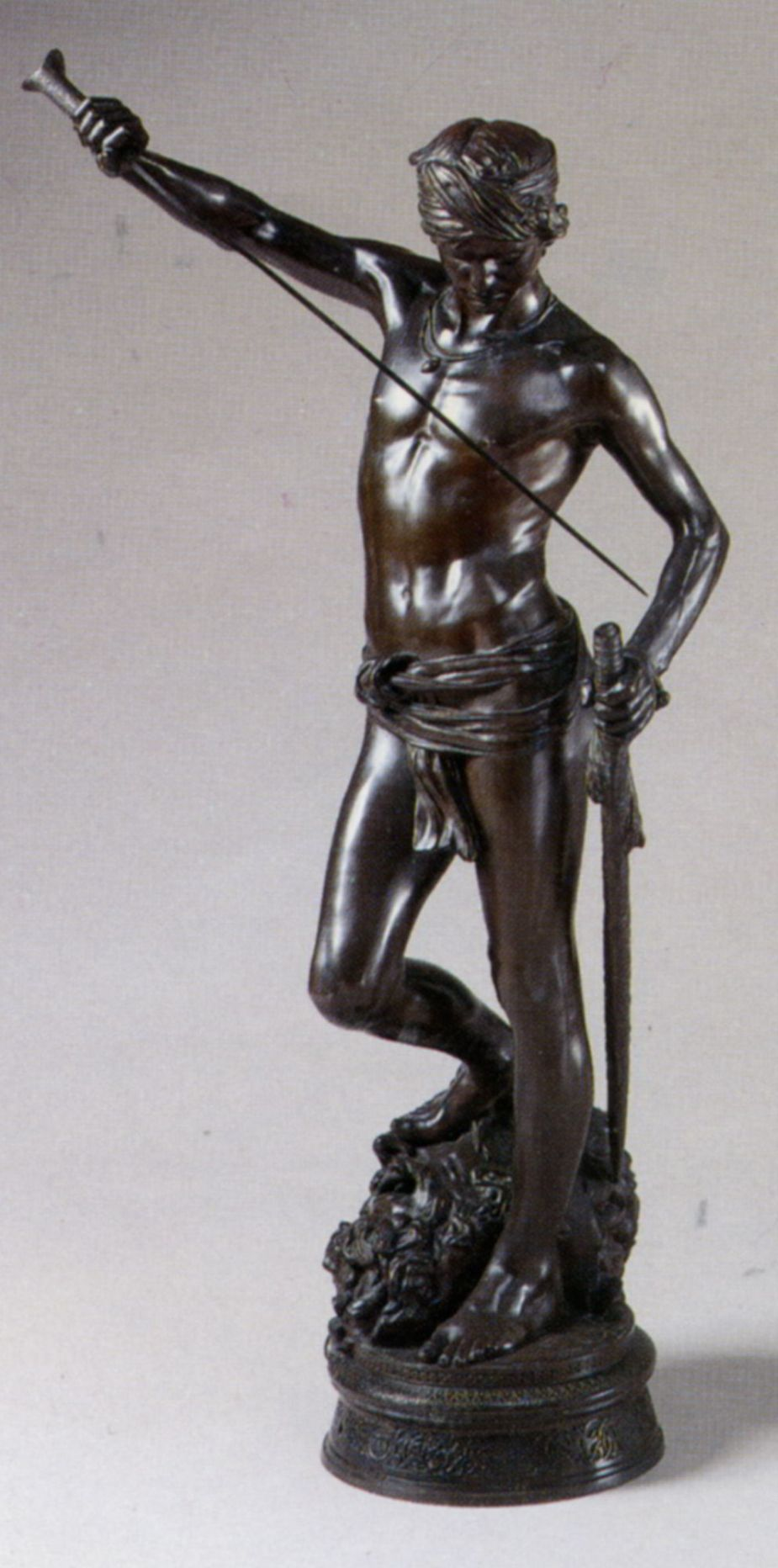 David by Marius Jean Antonin Mercie