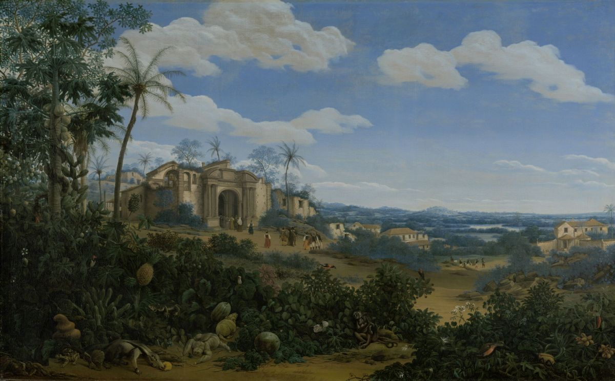 View of Olinda Brazil by Frans Jansz Post