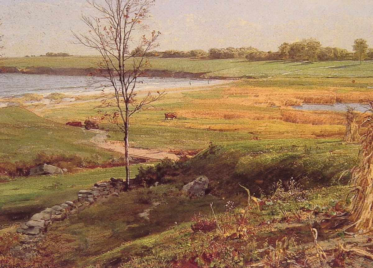 Salt Marsh by the Sea by William Trost Richards
