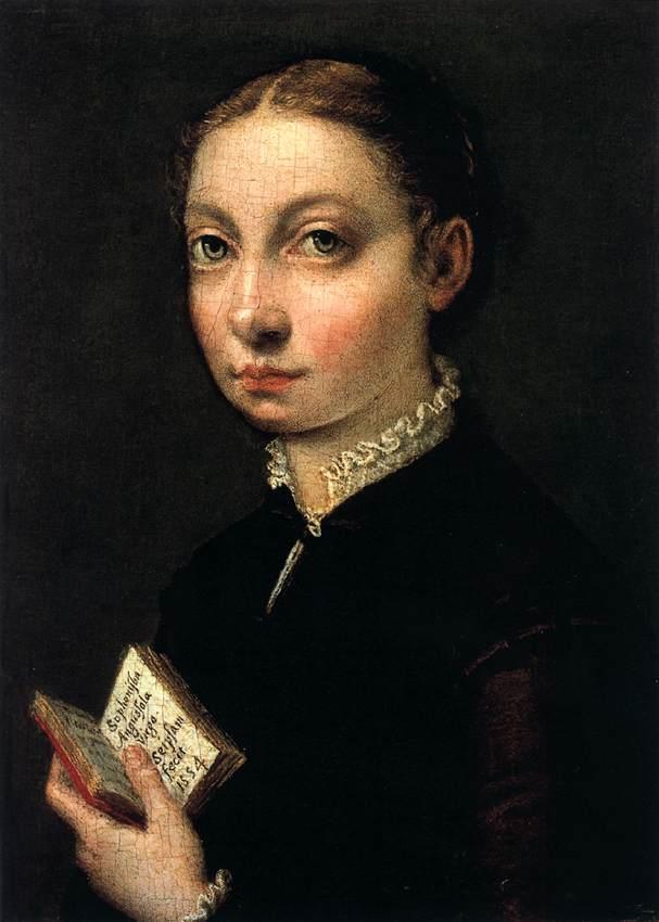 Self-Portrait by Sofonisba Anguissola