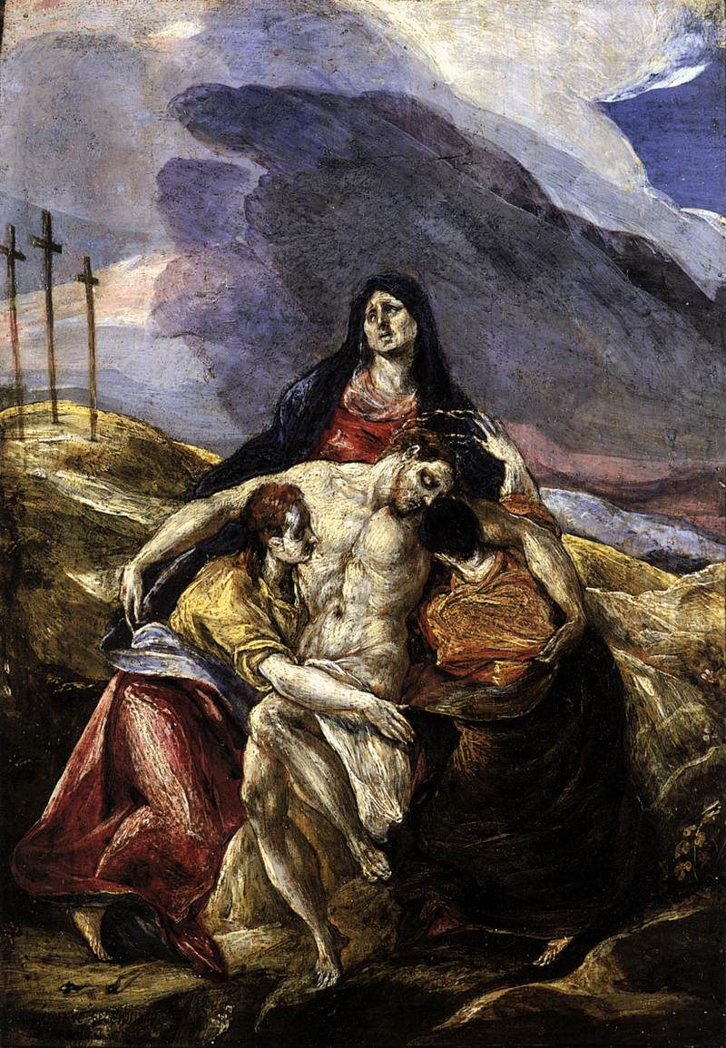The Pietà (The Lamentation of Christ) by El Greco
