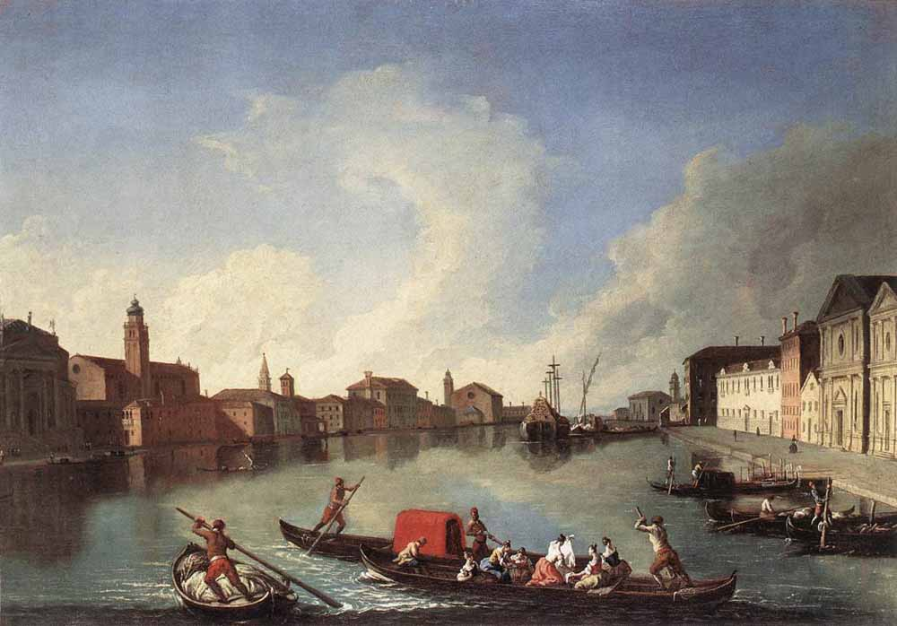 View of the Giudecca Canal by Johann Richter