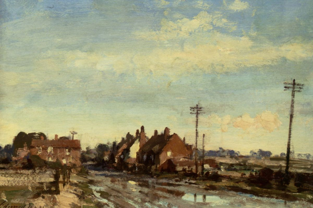 After Rain Upper Horning by Edward Seago