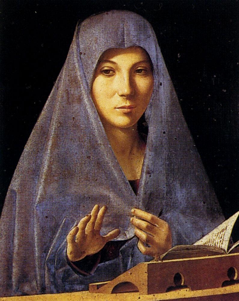 Annunciation by Antonello da Messina