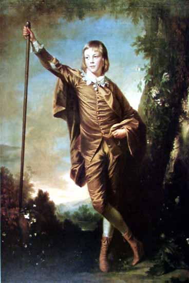 Brown Boy by Joshua Reynolds