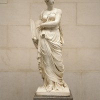 Calliope by Jacques Augustin Pajou