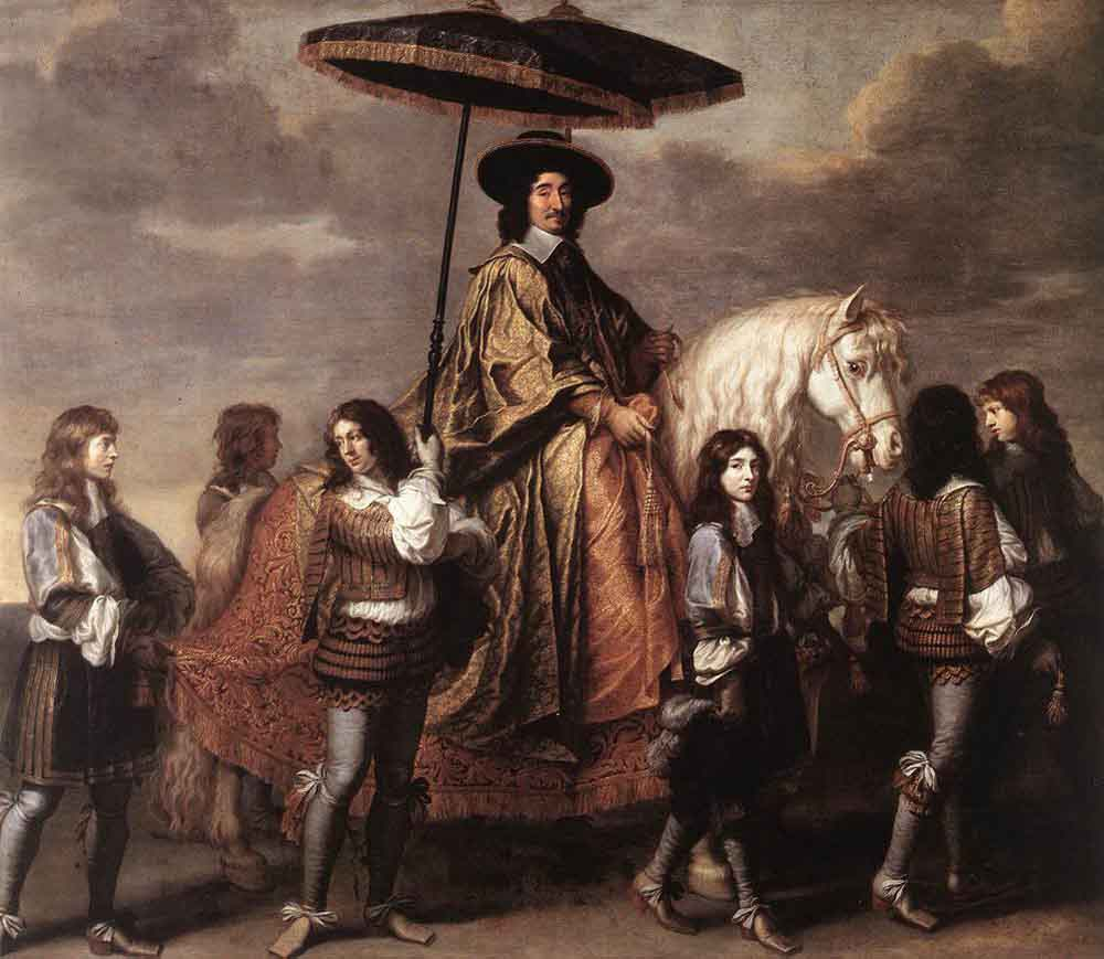 Chancellor Seguier at the Entry of Louis XIV into Paris in 1660 by Charles Le Brun