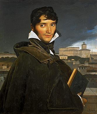 Francois Marius Granet by Jean Auguste Dominique Ingres