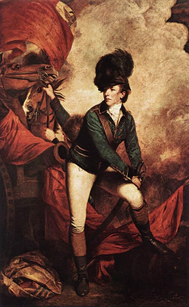 General Sir Banastre Tarleton by Joshua Reynolds
