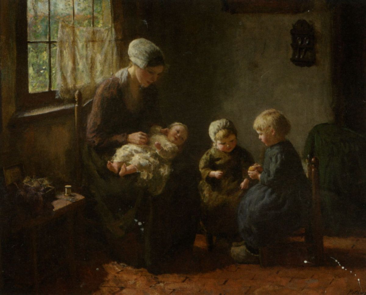Happy Family by Bernard Jean Corneille Pothast