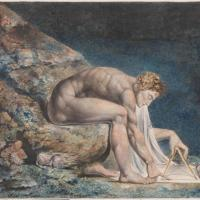 Isaac Newton by William Blake