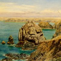 Mounts Bay Cornwall by John Brett