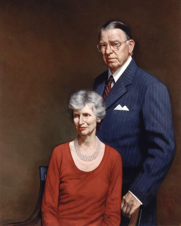 Mr. & Mrs. Spangler by Benjamin Franklin Long IV
