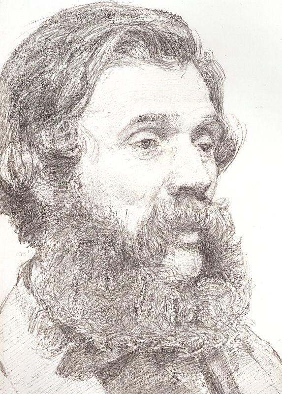 Portrait of William Moore, Jr. by Albert Joseph Moore