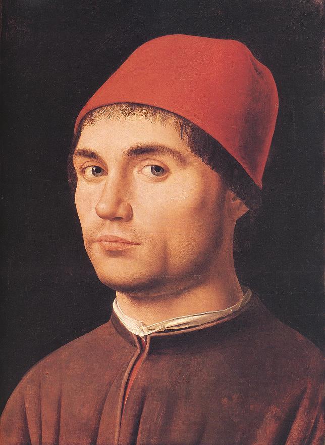 Portrait of a Man 4 by Antonello da Messina