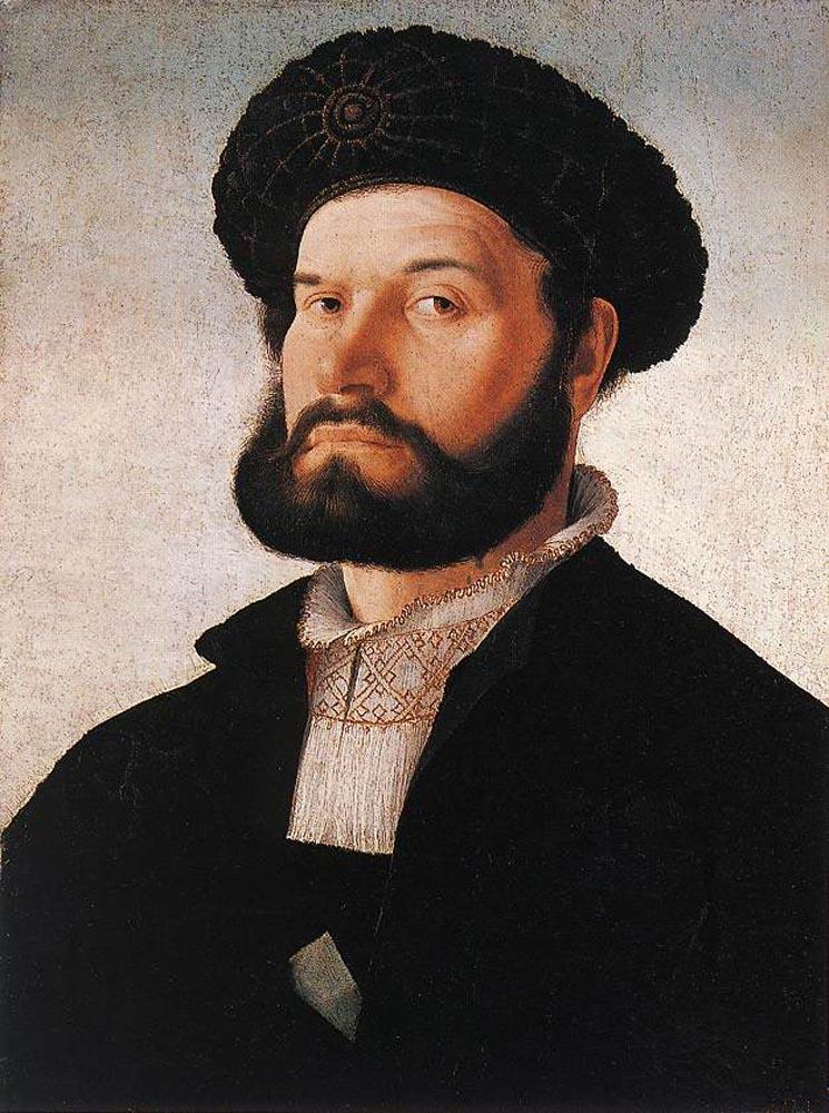 Portrait of a Venetian Man by Jan van Scorel