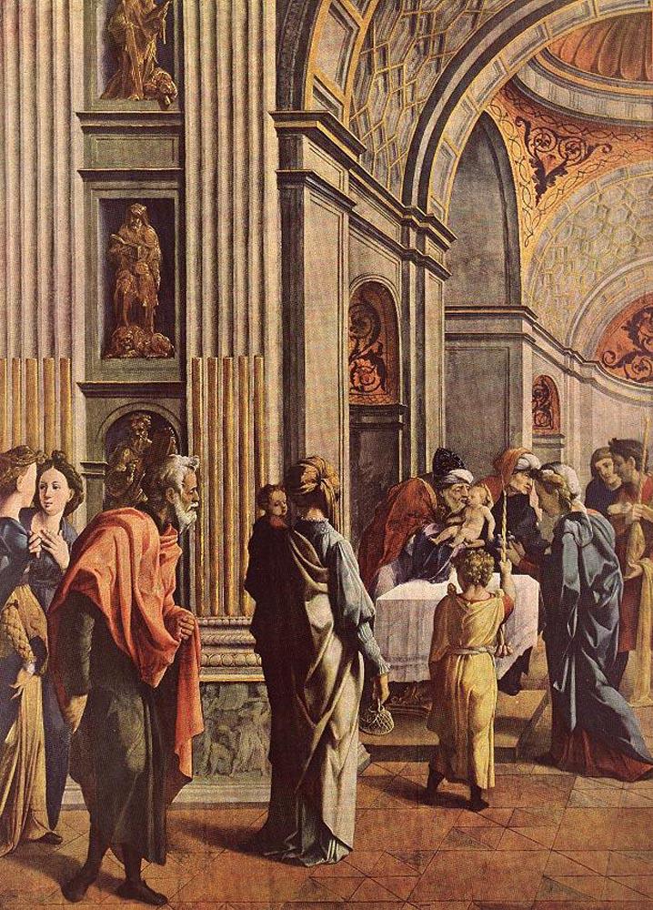 Presentation of Jesus in the Temple by Jan van Scorel