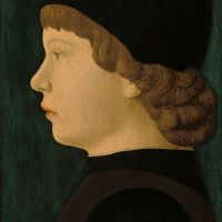 Profile Portrait of a Boy by Jacopo Bellini