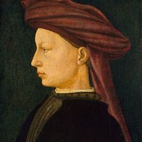 Profile Portrait of a Young Man by Masaccio