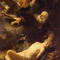 Sacrifice of Isaac by Rembrandt