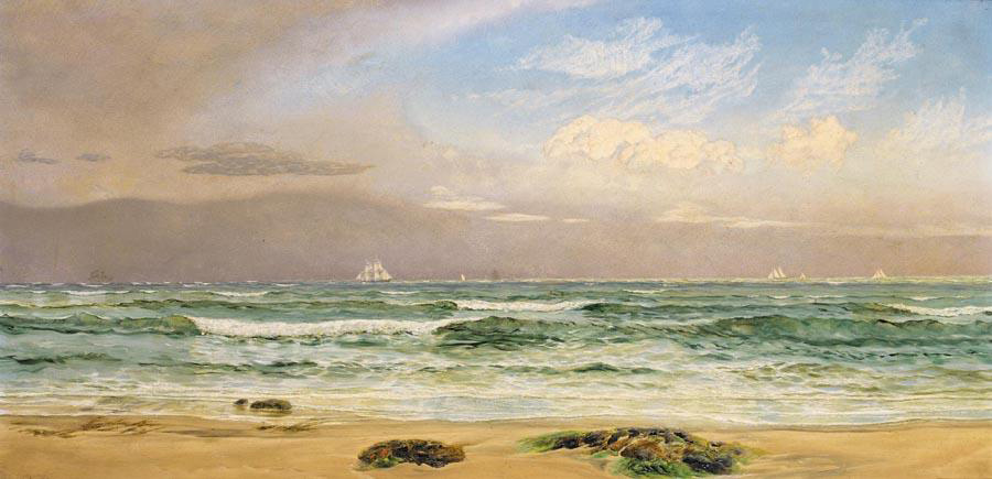 Shipping Off the Coast by John Brett