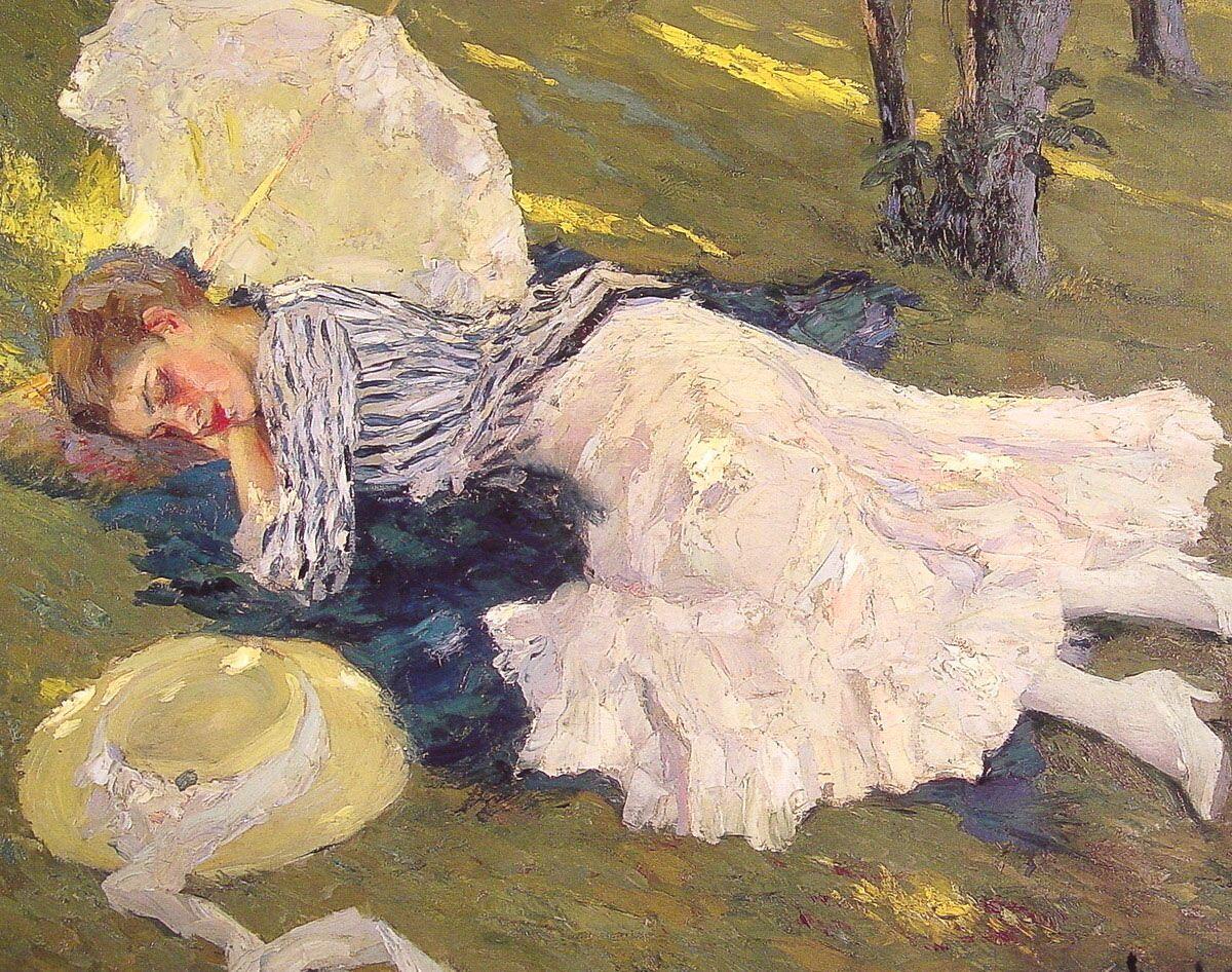 Sleepy by Edward Cucuel