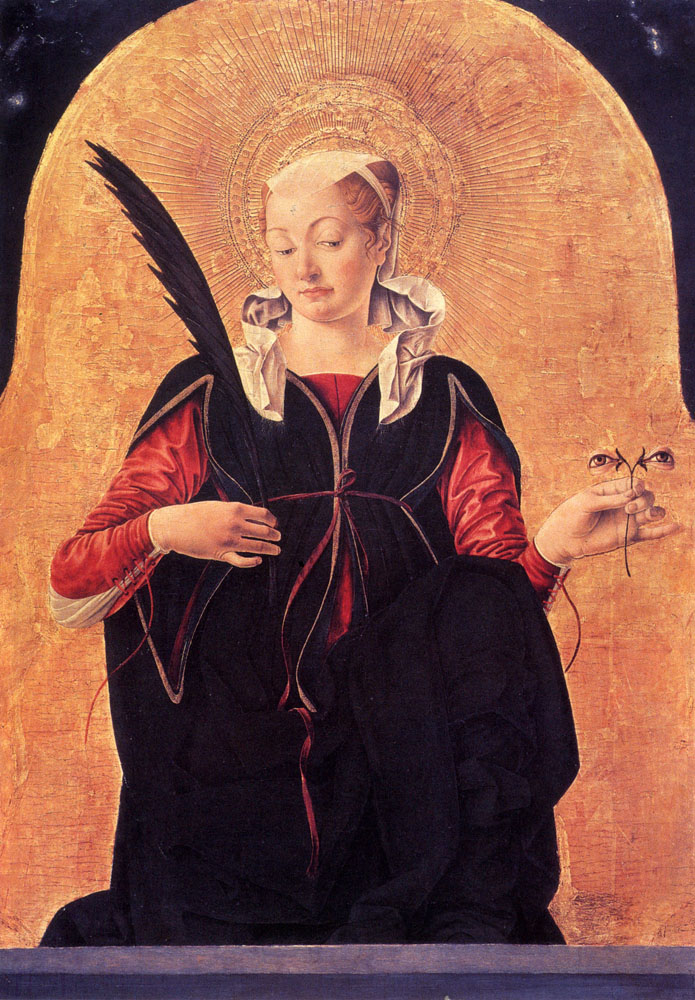 St. Lucy by Francesco del Cossa