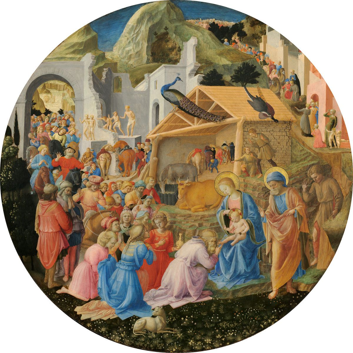 The Adoration of the Magi by Fra Angelico