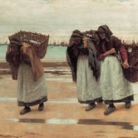 The Breadwinners by Walter Langley