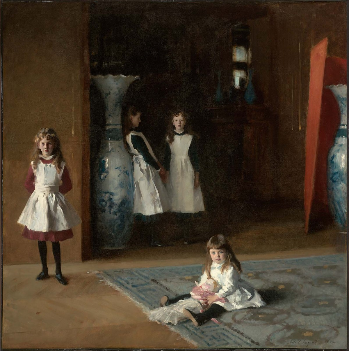 The Daughters of Edward Darley Boit by John Singer Sargent