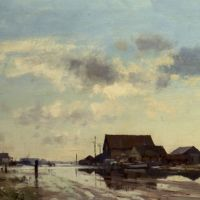 The Flooded Roof by Edward Seago