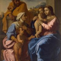 The Holy Family with Sts Elisabeth and John the Baptist by Francesco Primaticcio