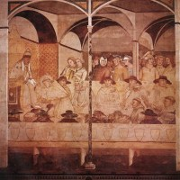 The Oath of St Louis of Toulouse by Ambrogio Lorenzetti