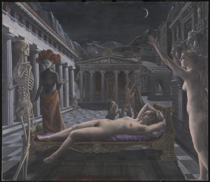 The Sleeping Venus by Paul Delvaux