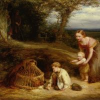The Young Brood by John Linnell