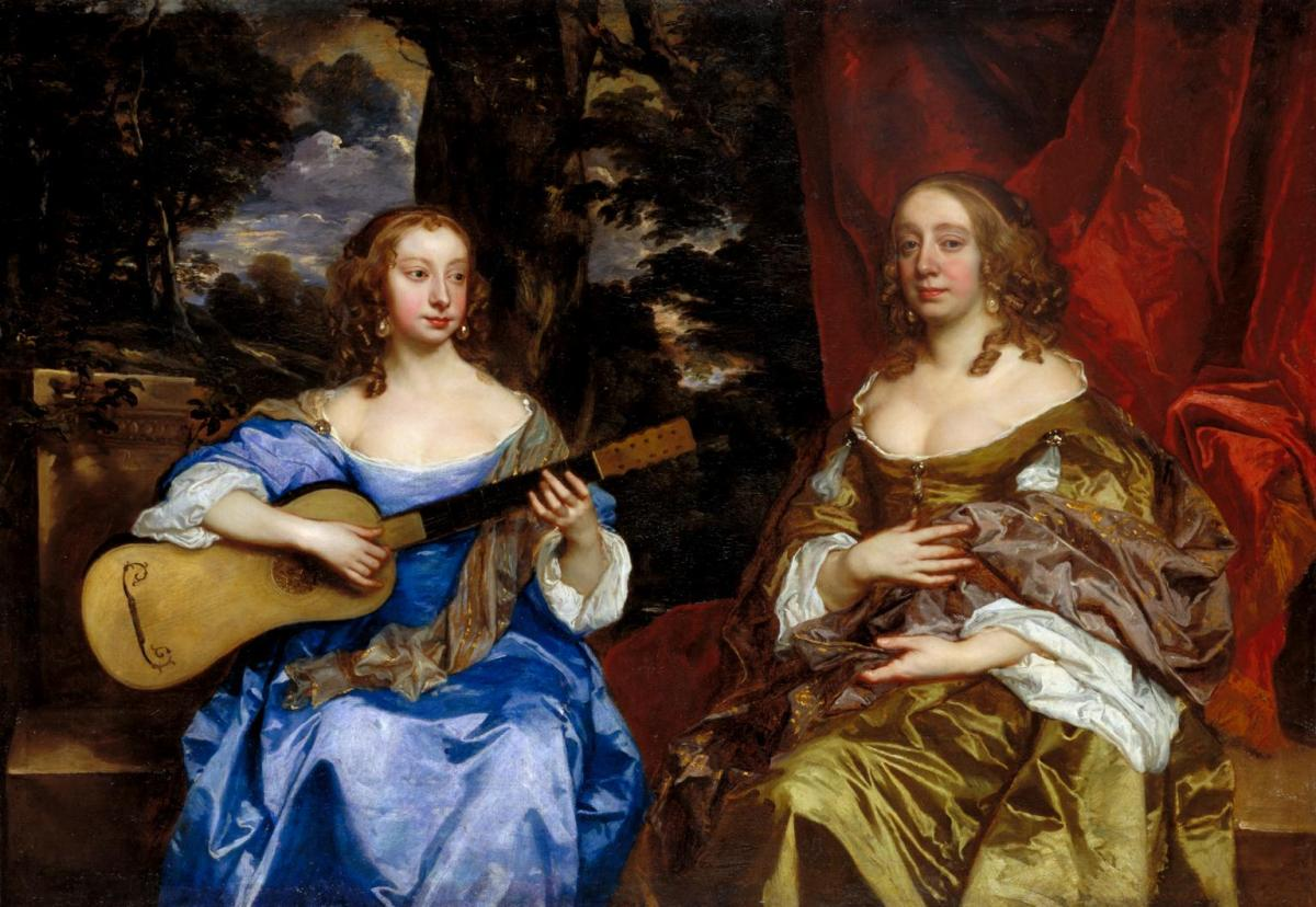 Two Ladies of the Lake Family by Sir Peter Lely
