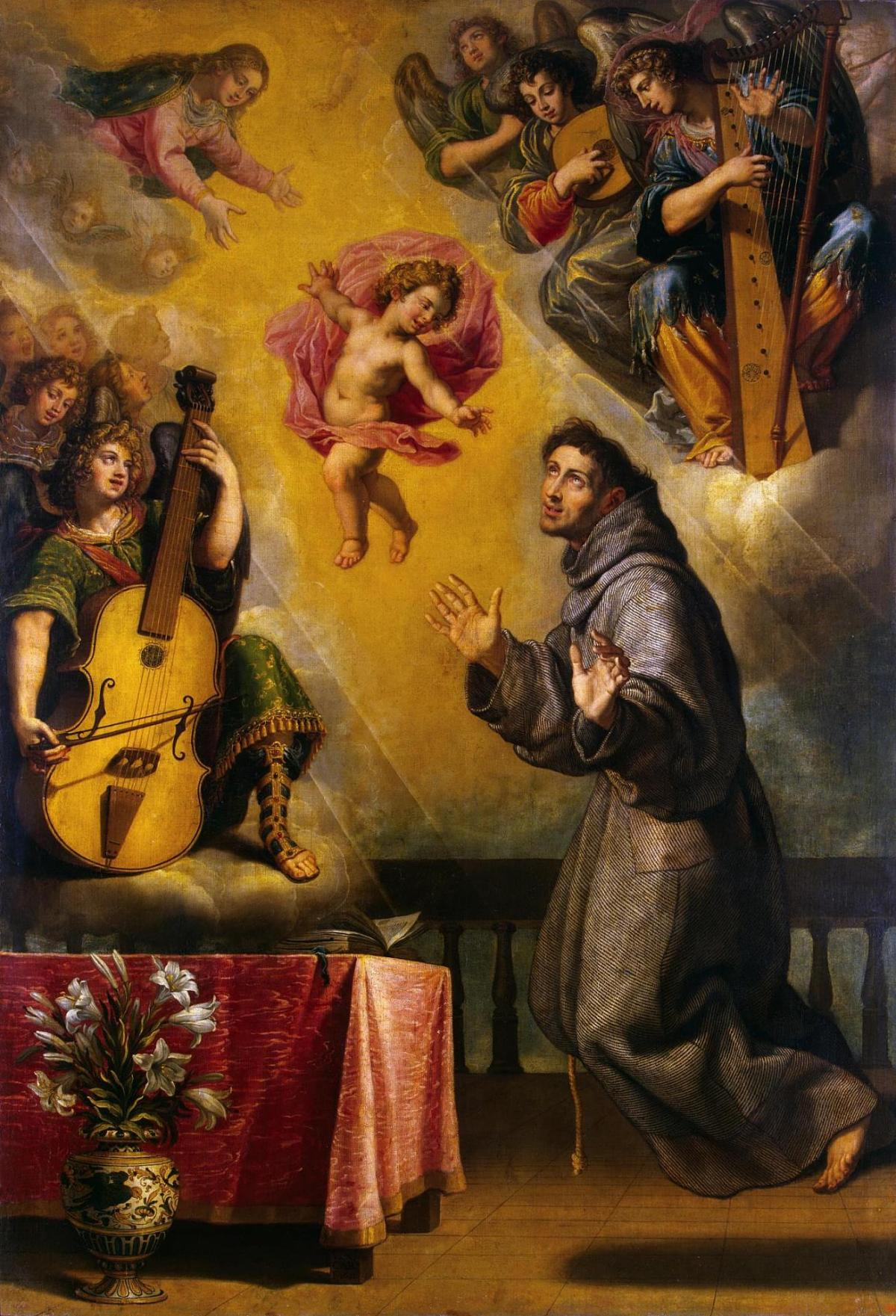 Vision of St Antony of Padua by Vicente Carducho