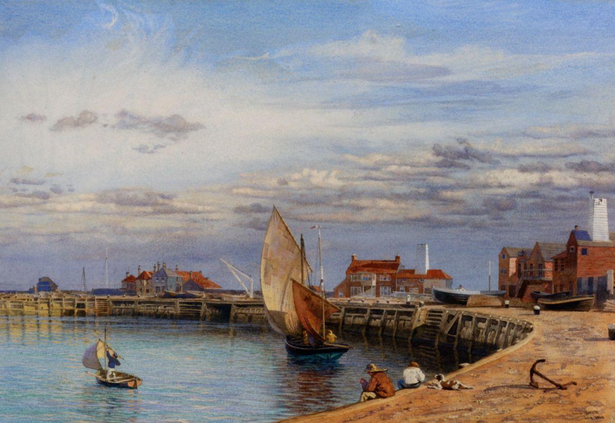 Yarmouth Harbour by John Brett
