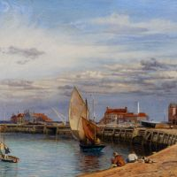 Yarmouth Harbour by John Brett