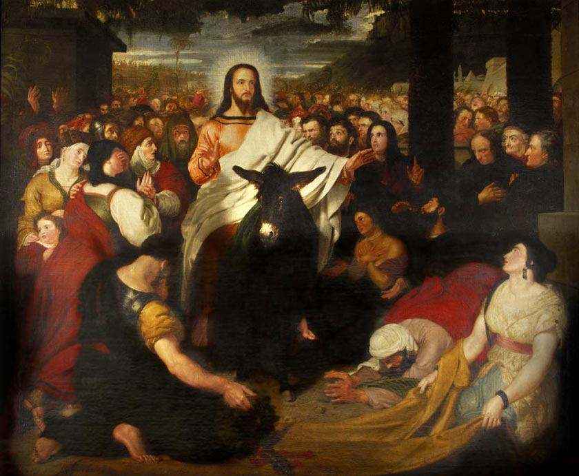 Christ's Entry into Jerusalem by Benjamin Robert Haydon
