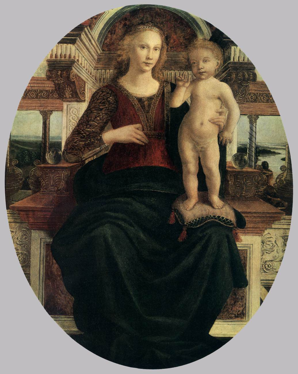 Mary with the Child by Piero del Pollaiuolo