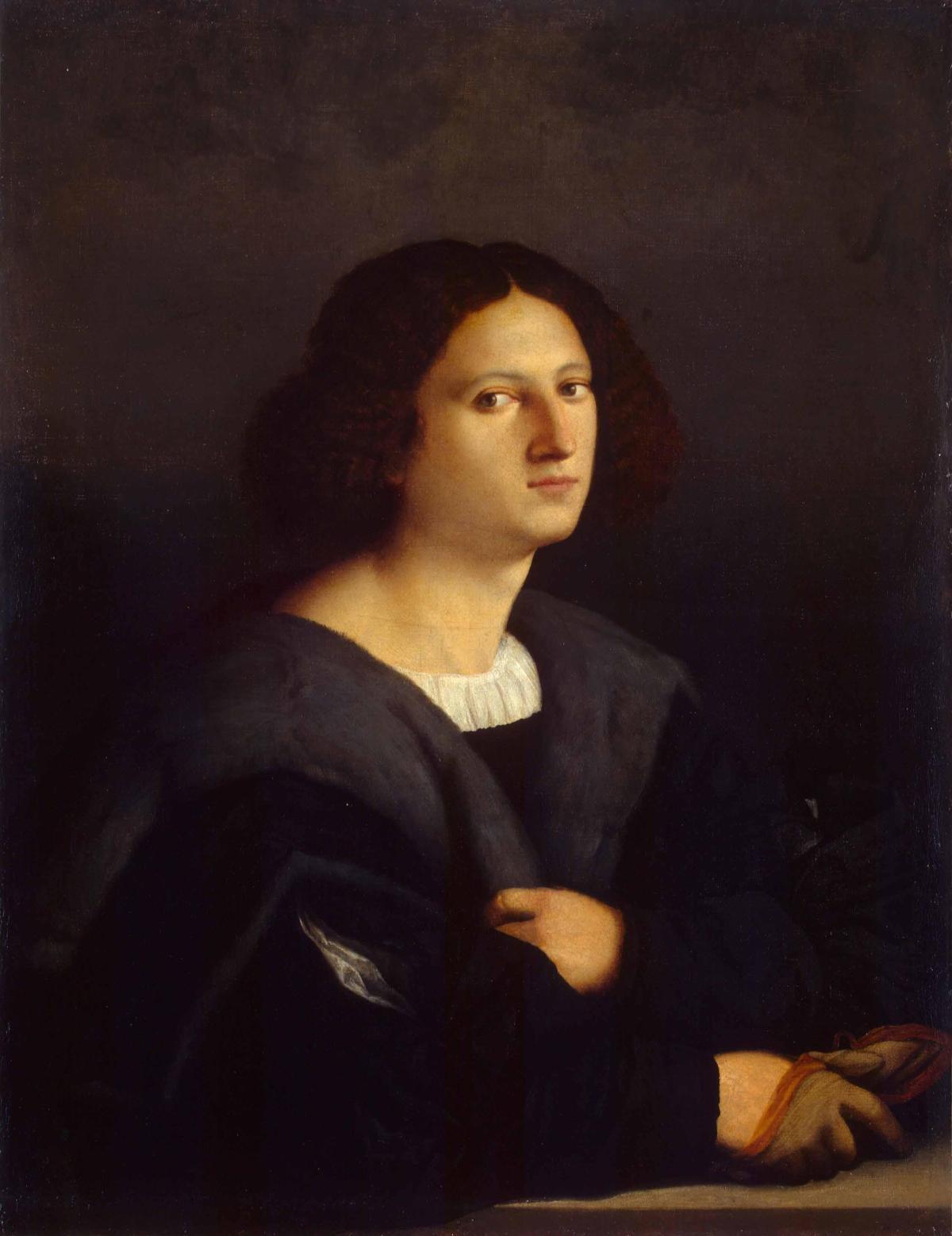 Portrait of a Man by Jacopo, il vecchio Palma