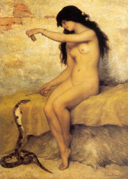 The Nude Snake Charmer by Paul Desire Trouillebert